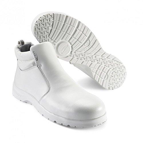 SIKA fusion bottes avec fermeture éclair sRC s2 blanc