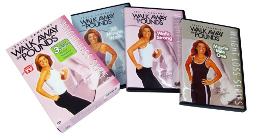 Walk Away The Pounds - 3pk Walk Strong, Muscle Mile One and 30 Minute Walk DVD's