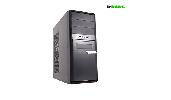 Appcesorios - Semitorre ATX B-MOVE Thea Negra PSU 500W: Amazon.es: Electrónica
