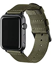 Archer Watch Straps - Premium Nylon Replacement Bands for Apple Watch   Mulitple Colors, 38/40mm, 42/44mm