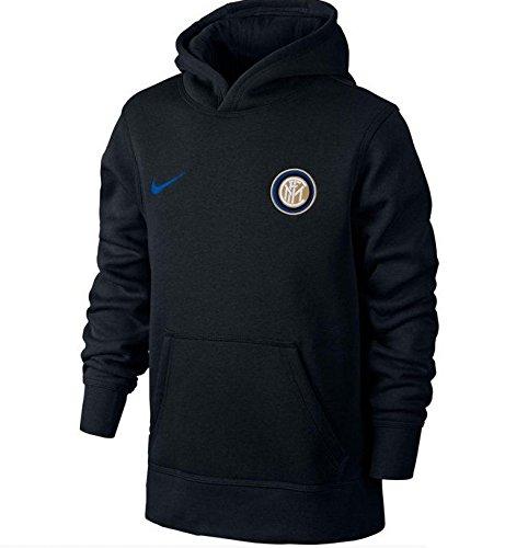 2015-2016 Inter Milan Nike Core Hooded Top (Black) - Kids