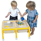 Childrens Factory Sand And Water Table, Mini Double