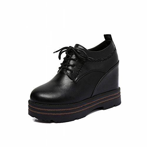 Shoes in Flat EUR35 the 's Women Bottomed black Women' s Shoes Ax1nwpq