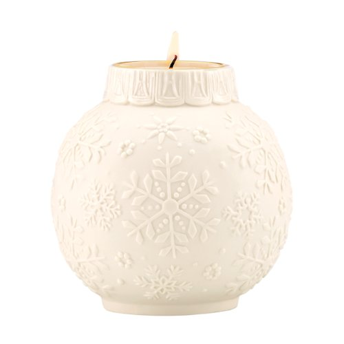 Lenox Snow Lights - Lenox Snowflake Scrollwork Votive