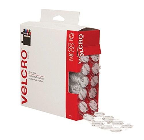 Velcro VEL153 Combo Diameter White