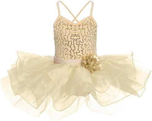 FYMNSI Vestido de Ballet Maillot de Danza para Niña Leotardo Body ...