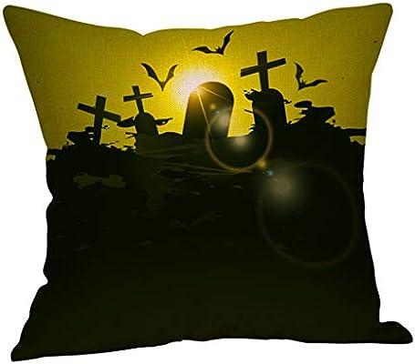 YWLINK Funda De CojíN OtoñO CojíN De Cintura Halloween Funda De ...