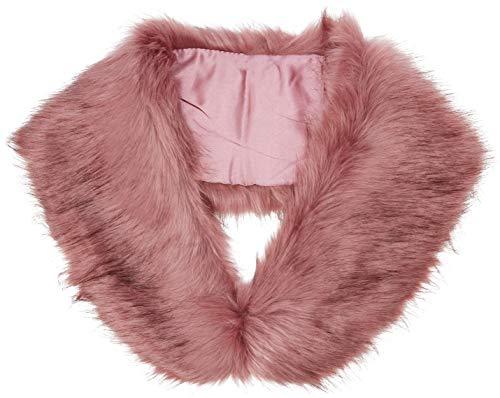 Pink 73 Faux Longline Look Gilet Fur Mujer mid New chaleco 0aSzw