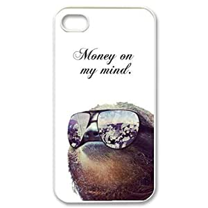 Dolla Dolla Bill Sloth Personalized Iphone 4/4S cover cases