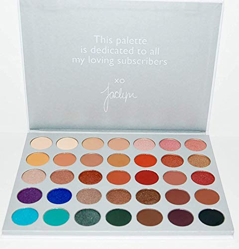 JAF Eyeshadow Palette Cosmetic Powder Makeup (35 Colours)