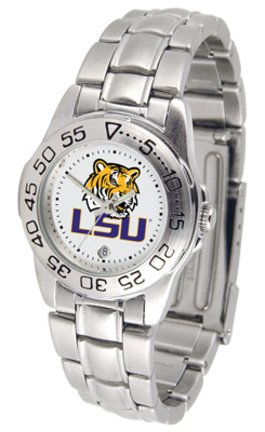 (Louisiana State (LSU) Tigers Gameday Sport Ladies' Watch with a Metal Band)