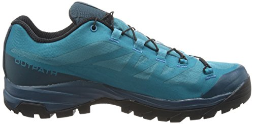 Randonnée 647 7 W Tide de Black Bleu Bleu Reflecting Tahitian Salomon Pond Femme Chaussures UK GTX Outpath Basses wqxOzOTSXE
