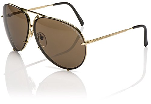 PORSCHE DESIGN P 8478 Sunglasses Light Gold A 63-10-135
