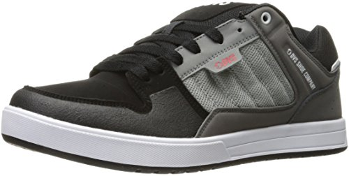 DVS Shoes Herren Portal Sneaker Grau (Charcoal Grey Leather)