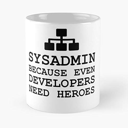 Sysadmin Developer Hero Computer - Best Gift Ceramic Coffee Mugs