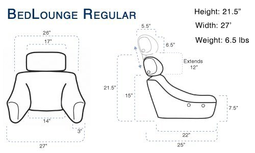 BedLounge Classic - Regular - Natural Cotton by BedLounge (Image #6)