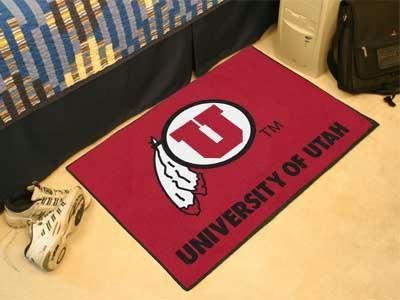 University of Utah Starter Rug