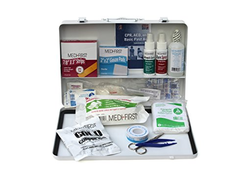 Medique 807M1 Large Vehicle First Aid Kit, Filled