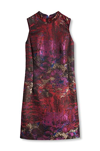 2 Red 611 Mehrfarbig ESPRIT Dark Collection Kleid Damen OqWWgUY