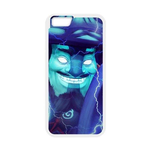 Storm Spirit 2 coque iPhone 6 Plus 5.5 Inch cellulaire cas coque de téléphone cas blanche couverture de téléphone portable EEECBCAAN01993