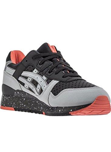 ASICS Premium Tiger Men Gel-Lyte III Retro Sneaker (12 M, Black/ Light Grey)