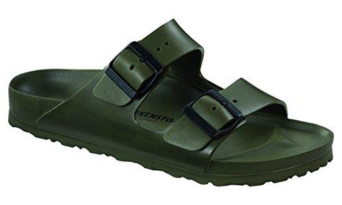 Birkenstock Women's Arizona EVA Sandals, Khaki, 40 Narrow EU, 9-9.5 US