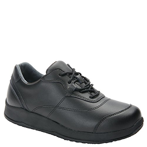 8 WW Shoe Black Oxfords Slip Drew Leather Drew Rubber Women's Resistant Foam vaqUxnw7H