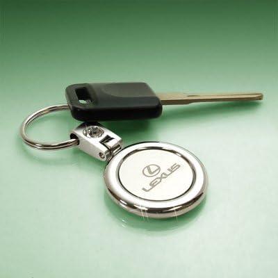 Lexus Swivel Circul Crystal Key Chain