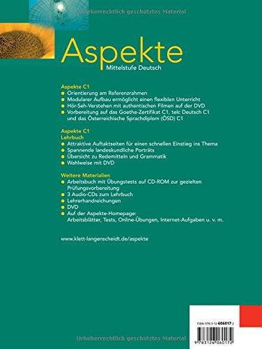 Aspekte: Lehrbuch 3 Ohne DVD (German Edition): 9783126060172: Amazon ...