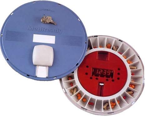 MedReady Medication Pill Box Reminder Dispenser Model 1700 by MedReady