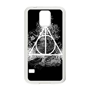 Protection Cover Samsung Galaxy S5 I9600 Cell Phone Case White Utqxr Deathly Hallows Personalized Durable Cases