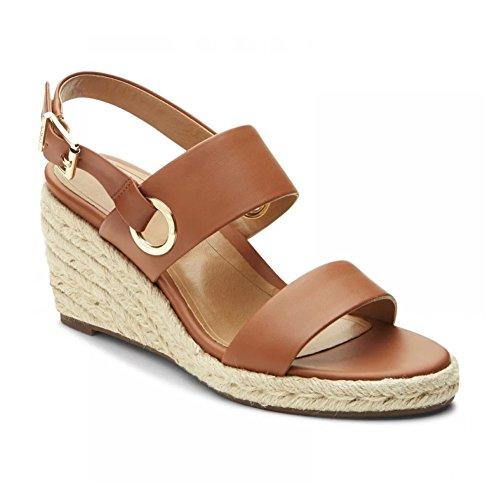 Vionic Womens Vero Espadrille Sandal, Tan, Size 6.5