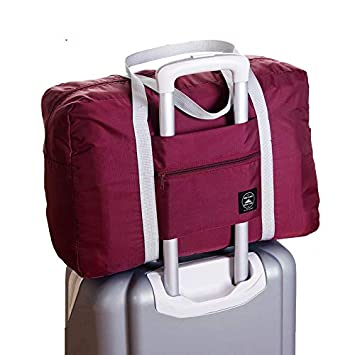 a5853bec9521 Amazon.com : Saasiiyo Large capacity folding Casual Travel Storage ...