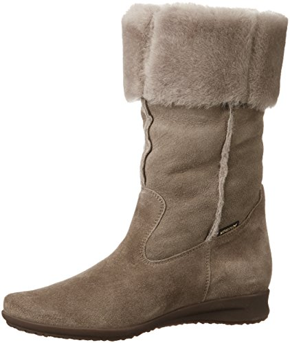 5 Lined Boot Mephisto Dark 3 Florida Taupe Ladies Uk Warm Long wHzfqYA