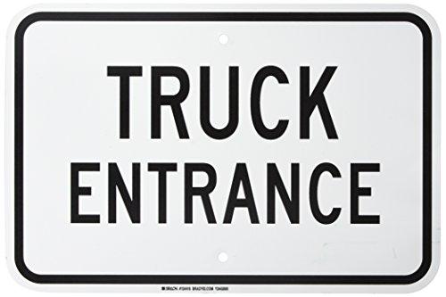 Brady 124416 Traffic Control Sign, Legend