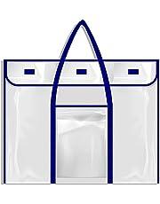 "Padyrytu Bulletin Board Poster Art PVC Storage Pocket Chart with Accessories Pocket 30"" x 24"""