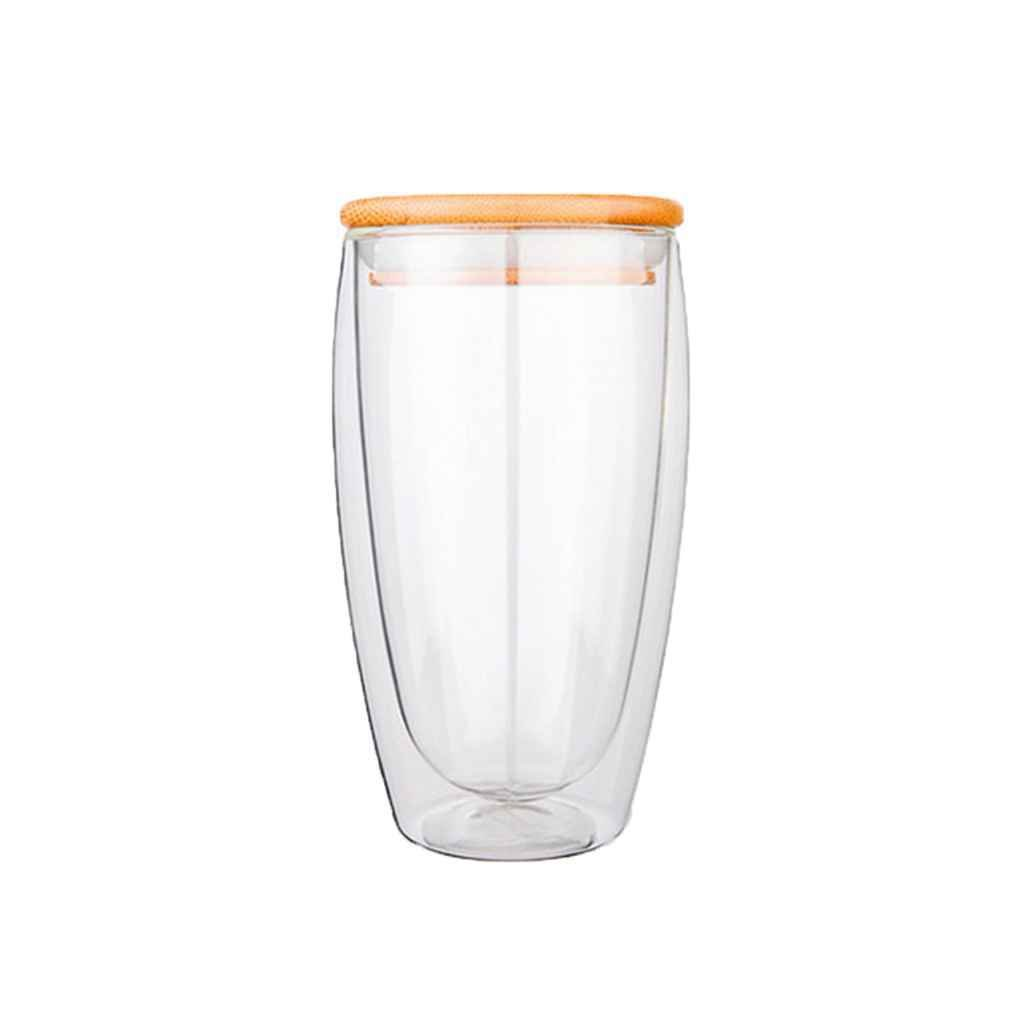 Double Layer Wall Clear Glass Tea Cup Glass Coffee Milk Mug Heat Resistant Thermal Insulation Mug Bottle LUFA