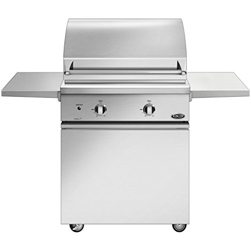 Dcs Professional 30-inch Freestanding Propane Gas Grill On Dcs Css Cart With Two Side Shelves - Bgc30-bq-l DCS
