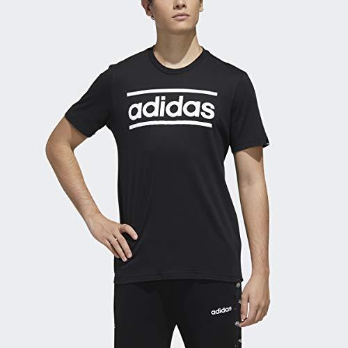 adidas Men's Linear Logo Graphic T-Shirt
