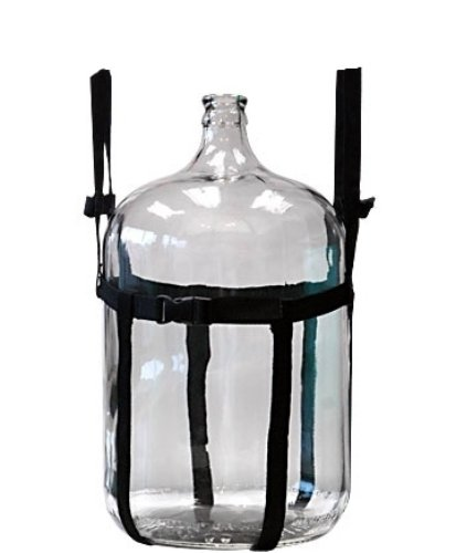 Thorium Heavy Duty Brewing Carboy Carrier Straps Complete with Sturdy Carboy Handle