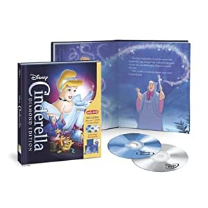 Cinderella: Diamond Edition [Blu-ray, DVD and Storybook]