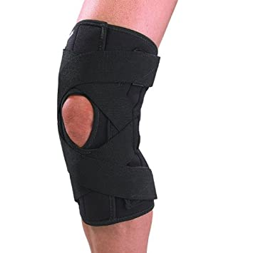 ff9750c50d Image Unavailable. Image not available for. Color: Mueller Deluxe Wrap  Around Knee Brace ...