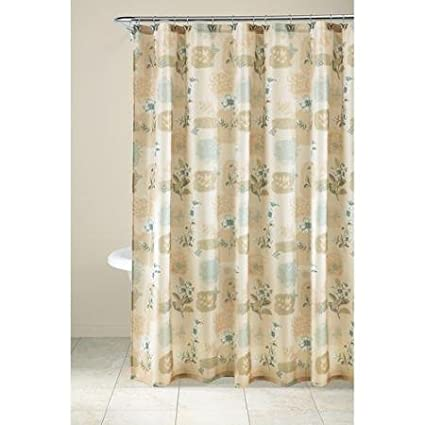 Image Unavailable Not Available For Color Chloe Butterfly Fabric Shower Curtain