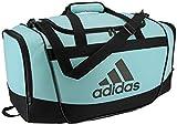 adidas Unisex Defender II Small Duffel Bag, Clear Aqua/Black, ONE SIZE