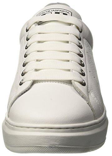 DAcquasparta Vieri, Sneaker Uomo Bianco (Bn U100)