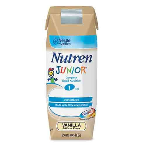 (Nutren Junior , Nutren Jr Van Liq Nut-N 250 ml, (1 CASE, 24 EACH) by Nestle Nutritional)