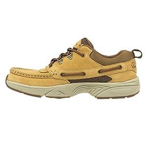Rugged Shark Men's Bill Dance Pro Boat Shoe (Gold Dust, 10)