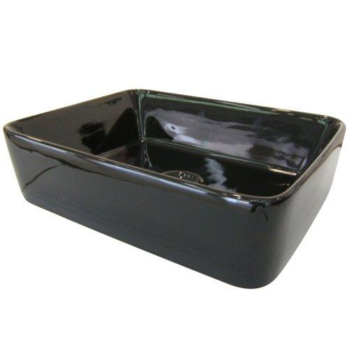 (Kingston Brass EV5102K Fauceture French Petite Vitreous China Bathroom Vessel,)
