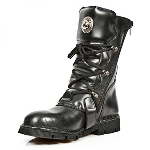 New Rock Boots M.1473b-c1 Gotico Hardrock Punk Unisex Stiefel Schwarz