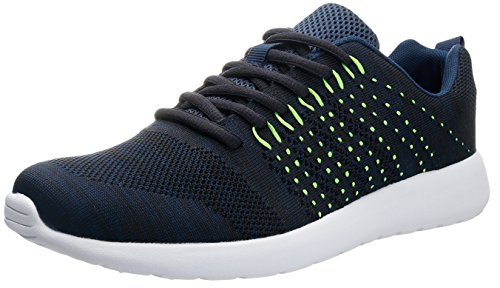 JOOMRA Men Summer Casual Fashion Shoes For Walking Jogging Best Sale Blue Green White Size 9.5 US
